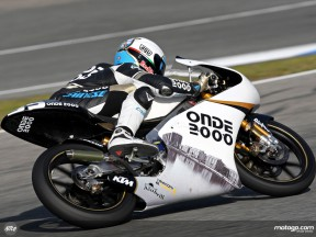De Rosa takes first 125cc pole position for home race