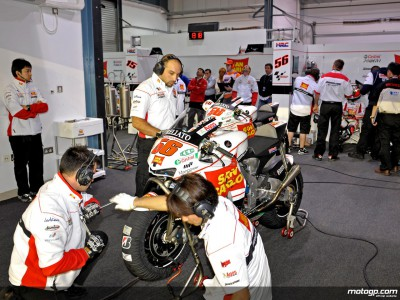 Saturday best for San Carlo Honda Gresini duo