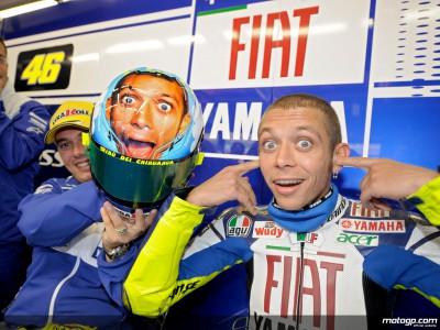 Não descanso para Rossi e Burgess já com olhos em Barcelona