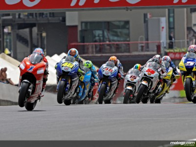 La MotoGP già di scena questo fine settimana per il Gran Premio Cinzano di Catalunya