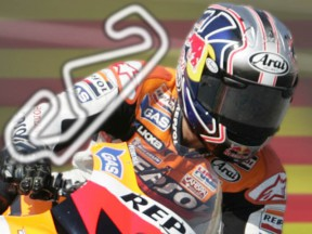 Onboard with Pedrosa at Catalunya
