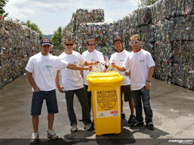 Five go recycling in Catalunya