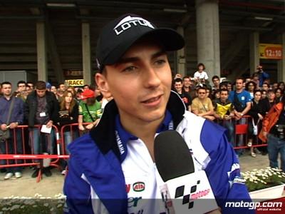 Lorenzo vor seinem Heim Grand Prix geehrt