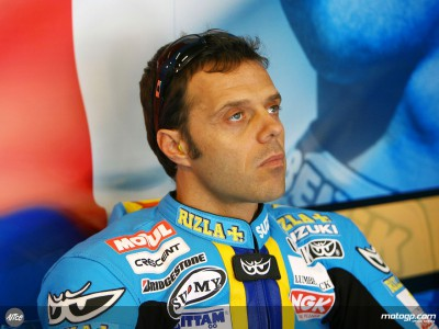 Capirossi on podium pace on first day