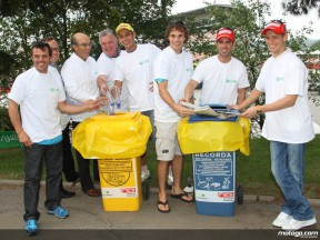 Grandes nomes apoio esforço ambiental da FIM
