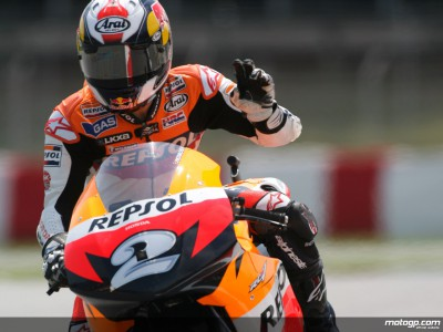 Pedrosa on top form for Donington visit