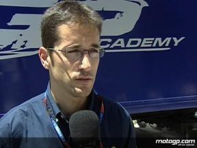 Complicado fin de semana en Jerez para los pilotos de la Red Bull MotoGP Academy