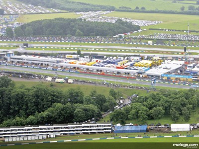 Donington Friday action commences in cool but stable conditions