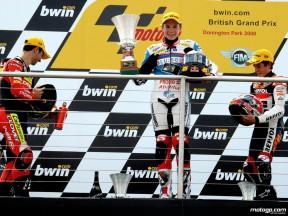 Les pilotes 125cc du podium de Donington s'expriment