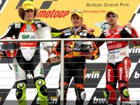Declaraciones desde el podio de 250cc