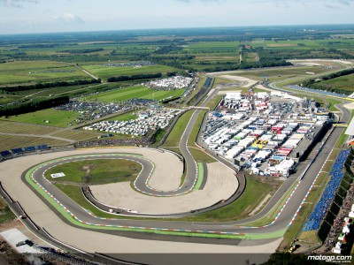 MotoGP pulls in at Assen after dash from Donington