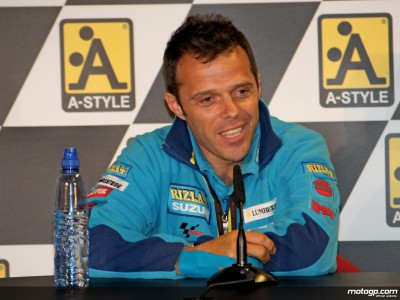 Capirossi: `Watching Donington made me try harder to get to Assen´