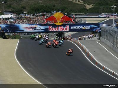El MotoGP en Laguna Seca al menos hasta 2014