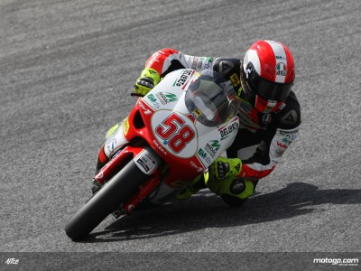Simoncelli and Bautista lead off 250cc practice in Assen