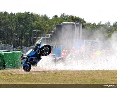 Capirossi out of action at Assen, no replacement ride for Spies