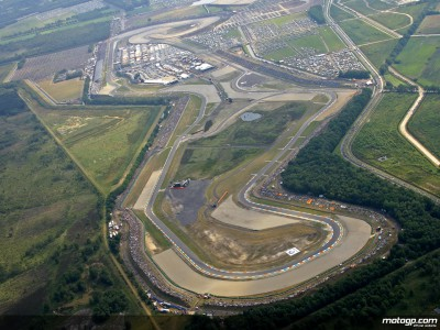 Friday morning sees wind and rain at Assen