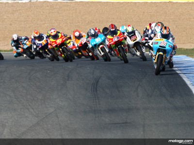 Race facts for the Dutch 125cc contest