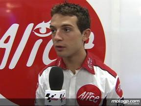Guintoli convince, Elias conclude la gara