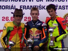 Young German Folger takes first victory at Brno