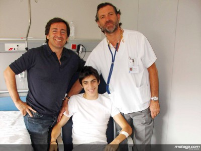 Sito Pons provides update on son Axel´s recovery from injuries