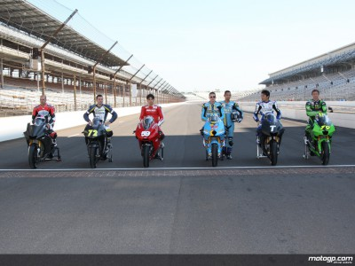 FIM officials and test riders happy with Indianapolis track