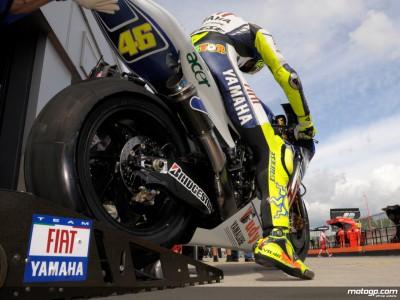 Rossi, en busca de una nueva victoria y del liderato en Sachsenring