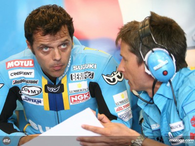 Capirossi happy with Suzuki and looking forward to new GSV-R