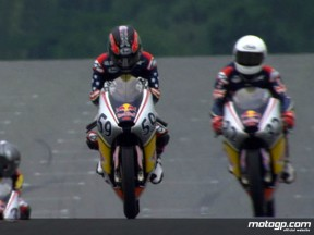 Tide turns on Beach in Red Bull MotoGP Rookies Cup