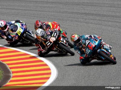 German 125cc grid in focus