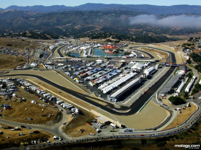 Laguna action commences in cool California conditions