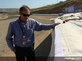 Airfences in focus at Laguna Seca