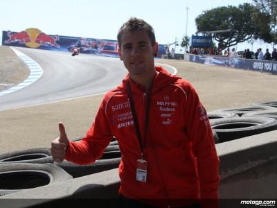 A.バウティスタ、ラグナセカのレースに興奮