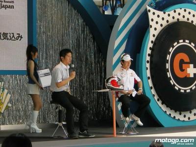中野真矢、日本GPのプロモーションに一役