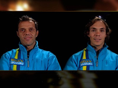 Head to head: Capirossi and Vermeulen