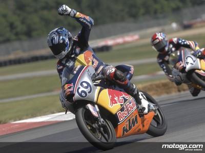 Hayden Gillim wins Red Bull AMA U.S. Rookies Cup race
