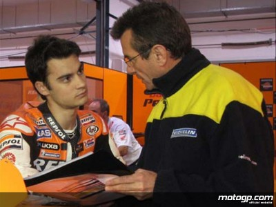 Meeting Patrick Isacco, Dani Pedrosa´s Michelin Technician