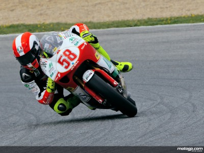 250cc duel continues in Brno with Simoncelli on top