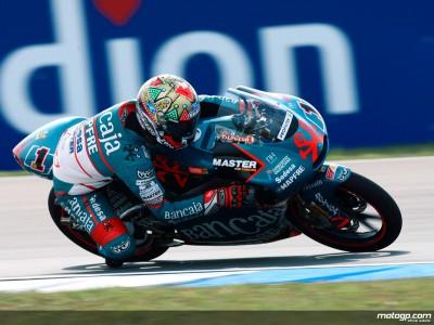 Talmacsi heads rain-split 125cc qualifying session