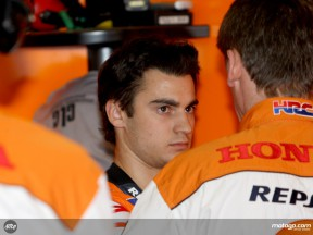 Difficult time for Pedrosa in Czech Republic