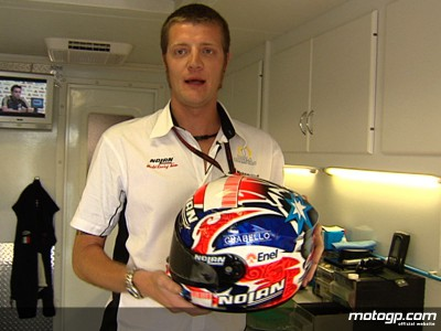 Making helmets for the World Champion