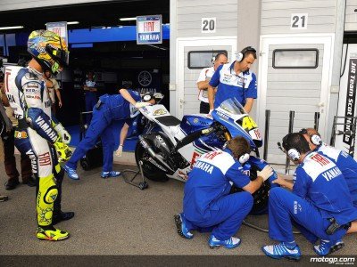 Second place Brno start just fine for Rossi