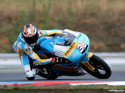 Smith, por debajo de la pole en el warm up de 125cc