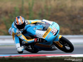 Bradl´s erster Sieg in der Klasse bis 125 ccm in Brno