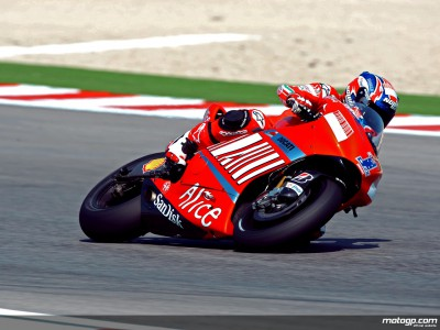 Stoner shapes up strong on day one in Misano