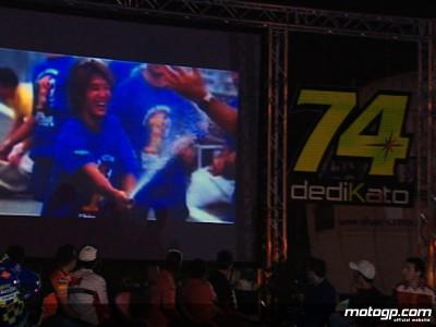 DediKato-Veranstaltung ehrt den ehemaligen 250ccm Weltmeister