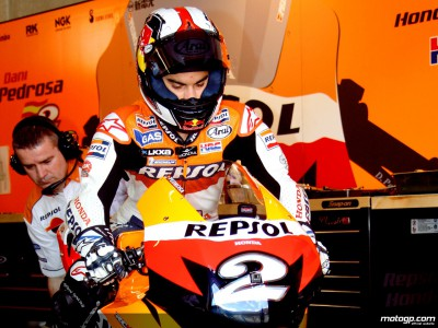 Day of late decisions for Repsol Honda