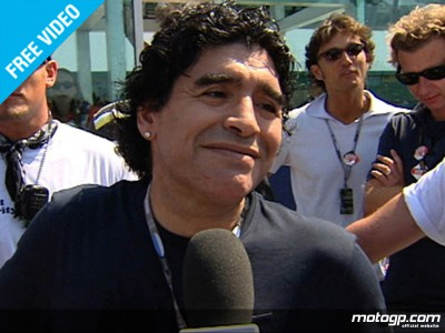 Maradona meets Rossi at San Marino contest