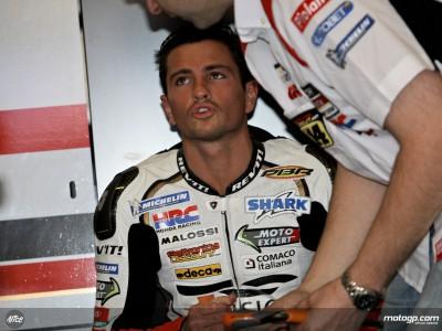 More heartbreak after first lap crash for De Puniet