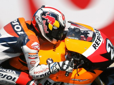 Marathon tyre test begins Pedrosa´s Bridgestone association