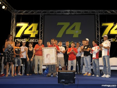 San Carlo Honda Gresini raising money for Kato´s family
